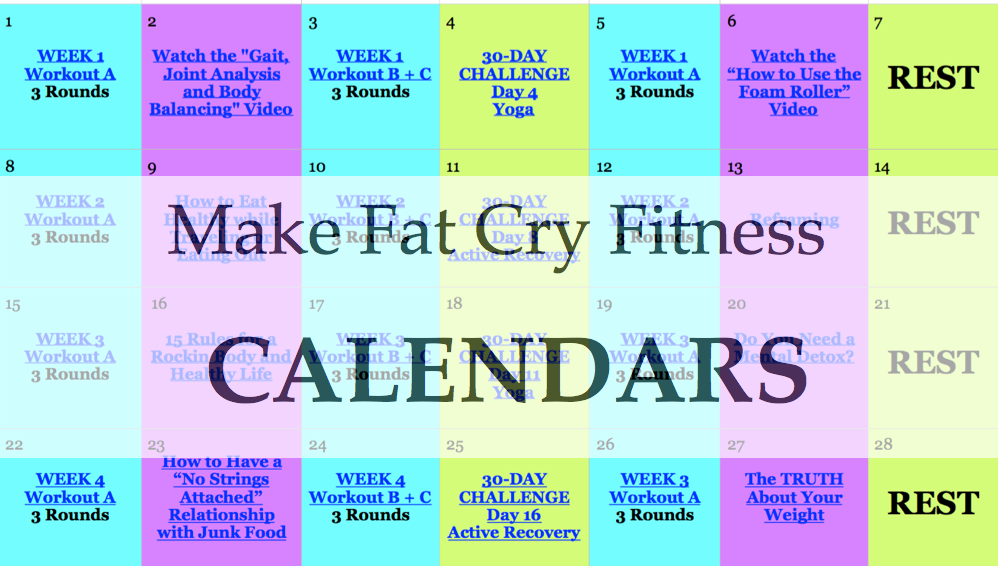 90 Day Calendar.90 Day Calendar Button Make Fat Cry Challenge